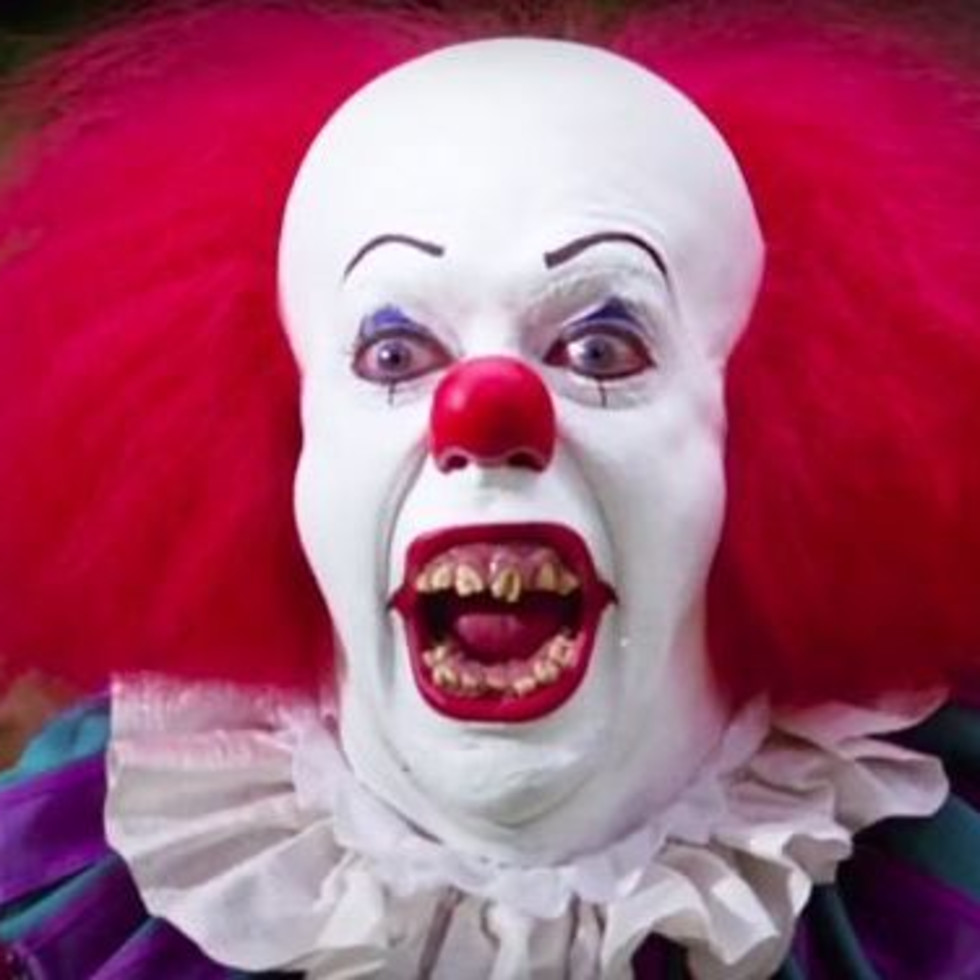 Pennywise the clown, stephen king it, september 2017