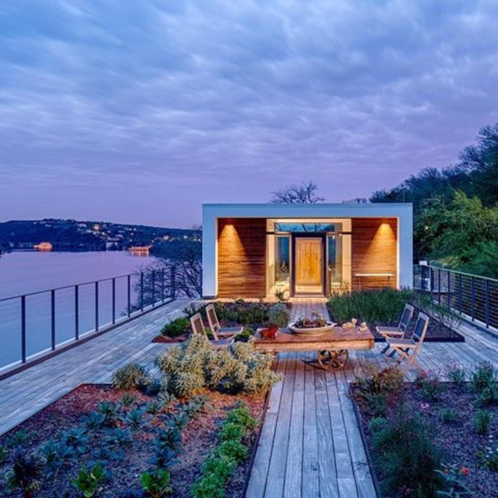 Austin cliff home Houzz