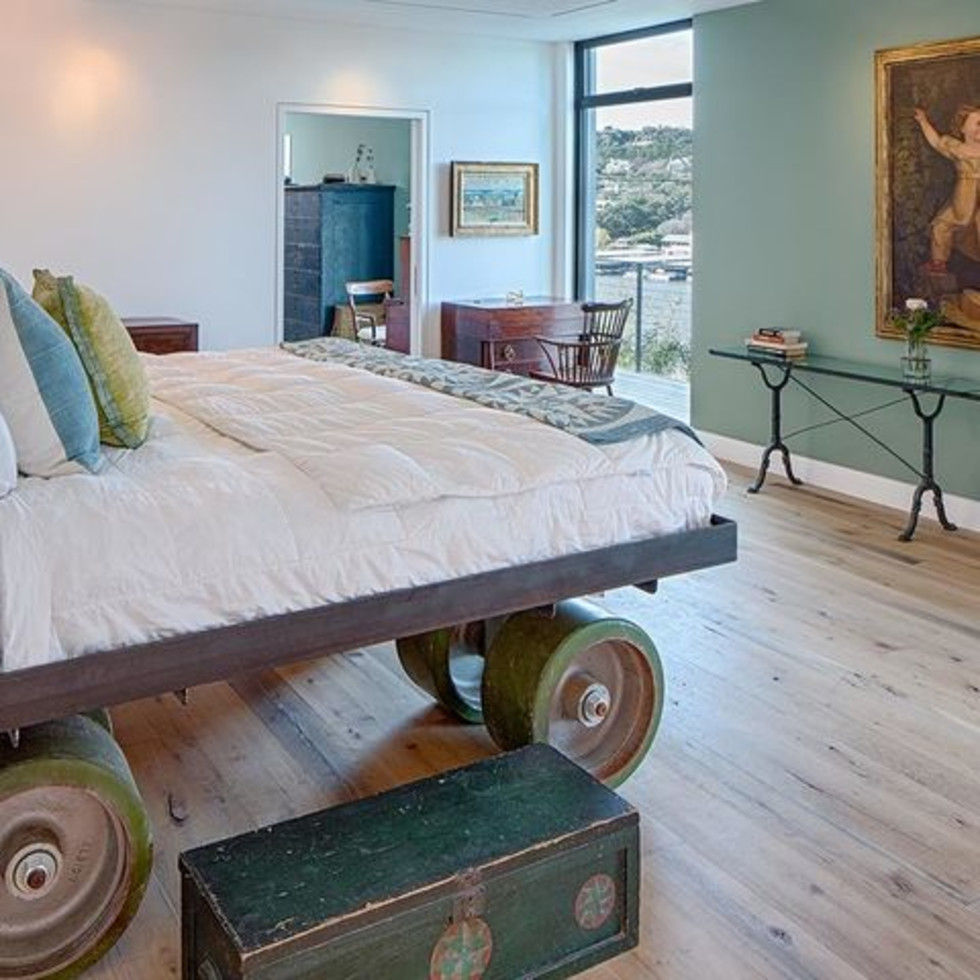 Austin cliff home Houzz bedroom