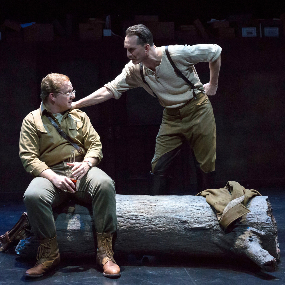 Alley Theatre: Describe the Night, Jeffrey Bean, Todd Waite