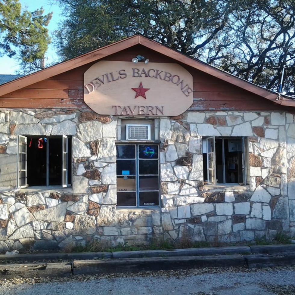 Devil's Backbone Tavern in Fischer, Texas