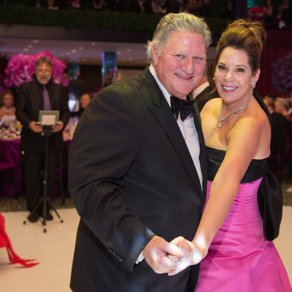 Jim and Cherie Flores at Museum of Fine Arts Houston Grand Gala Ball