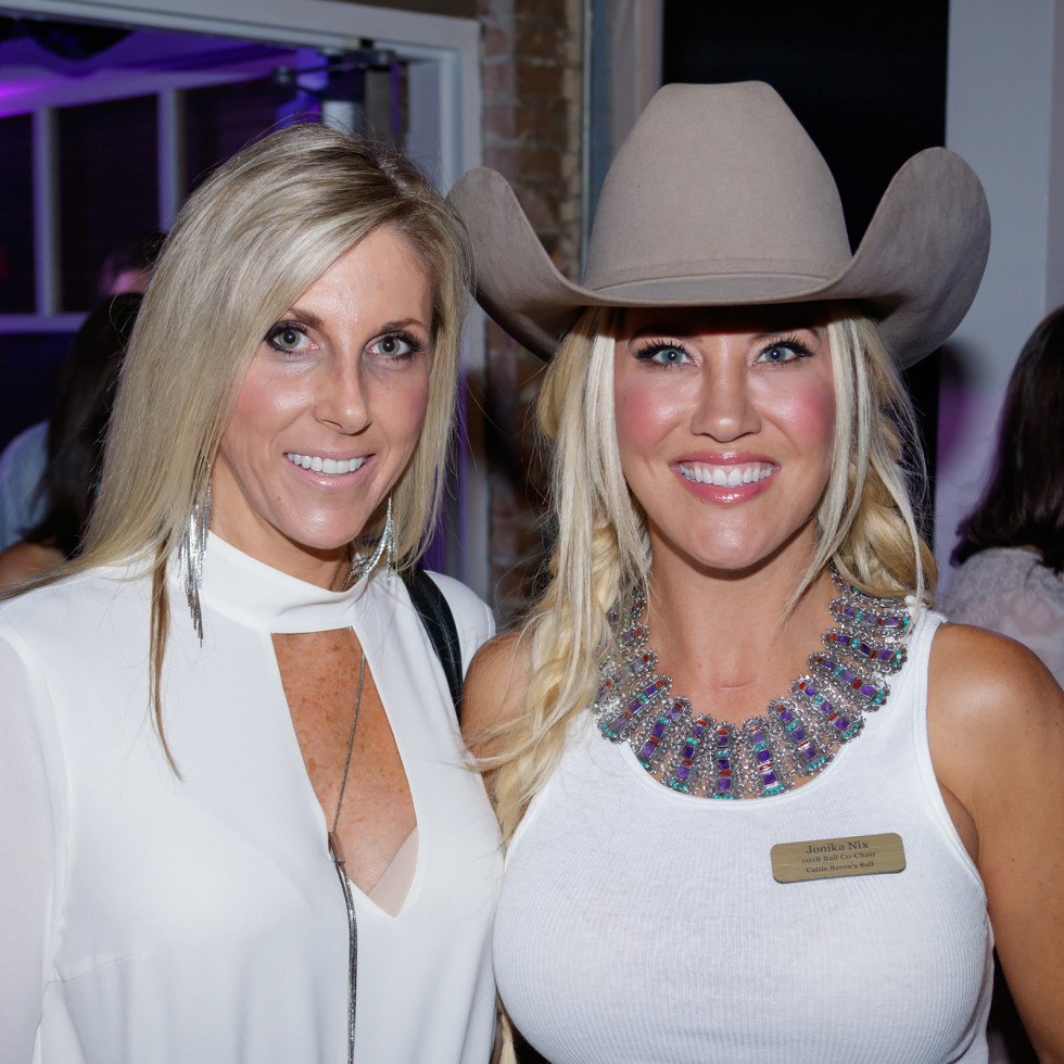 Krista Warren, Jonika Nix, Cattle Barons Ball 2017