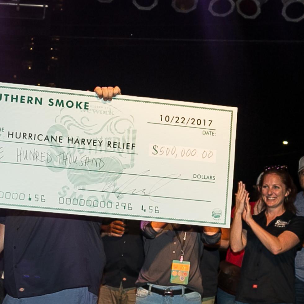Southern Smoke 2017 check presentation