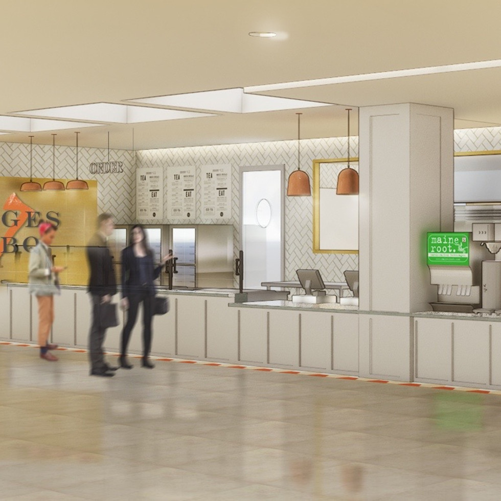 Feges BBQ Greenway Plaza rendering
