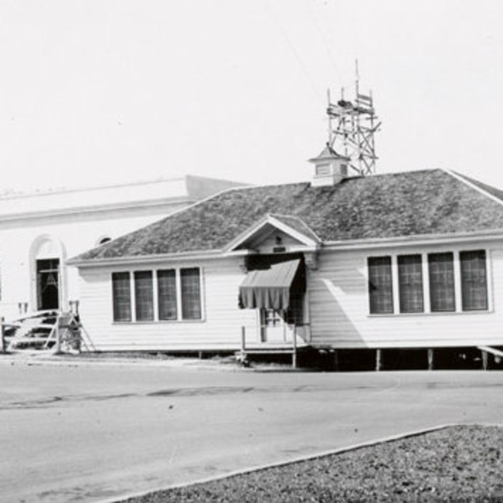 Austin's first library