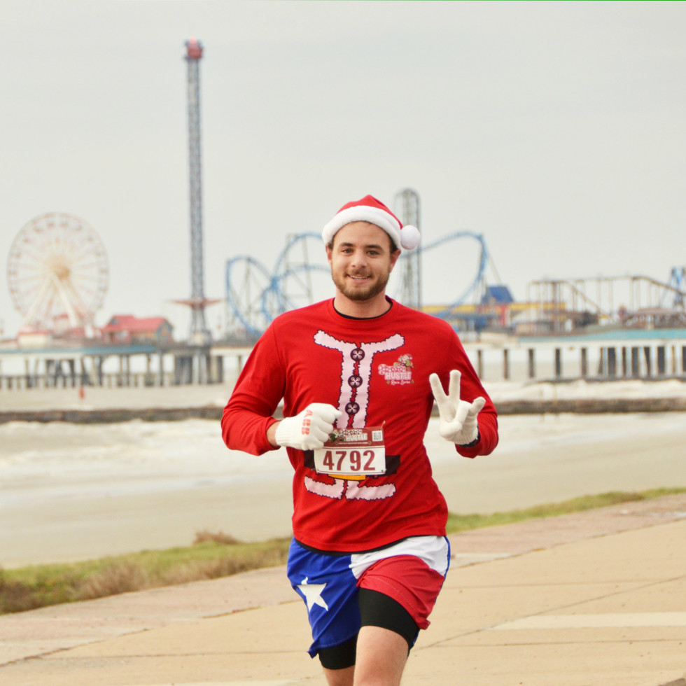 Santa Hustle run