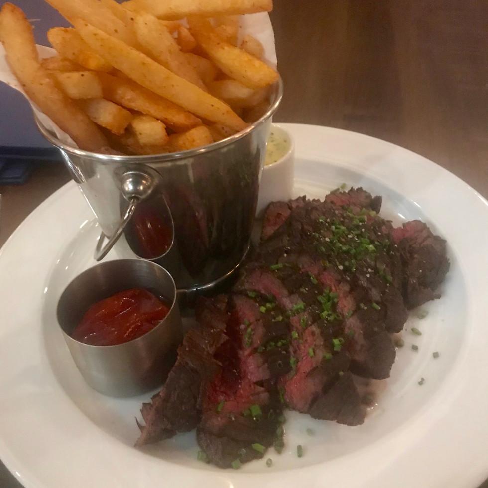 Maison Pucha Bistro steak frites