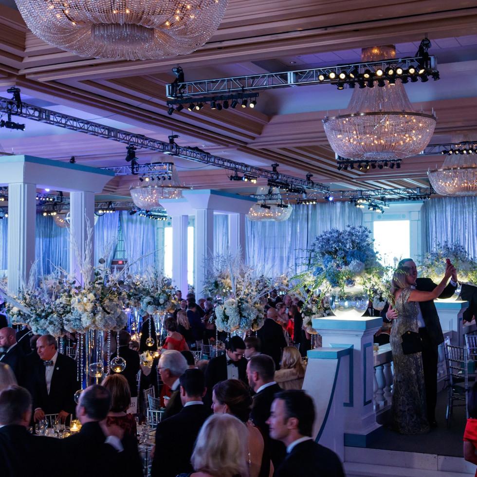 Chantilly Ballroom, Crystal Charity Ball 2017