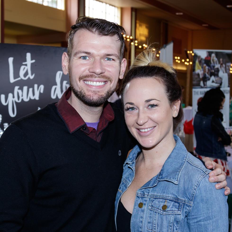 Fitz Bailey, Lysandra Pursley, 2017 CultureMap Dallas Holiday Pop-up