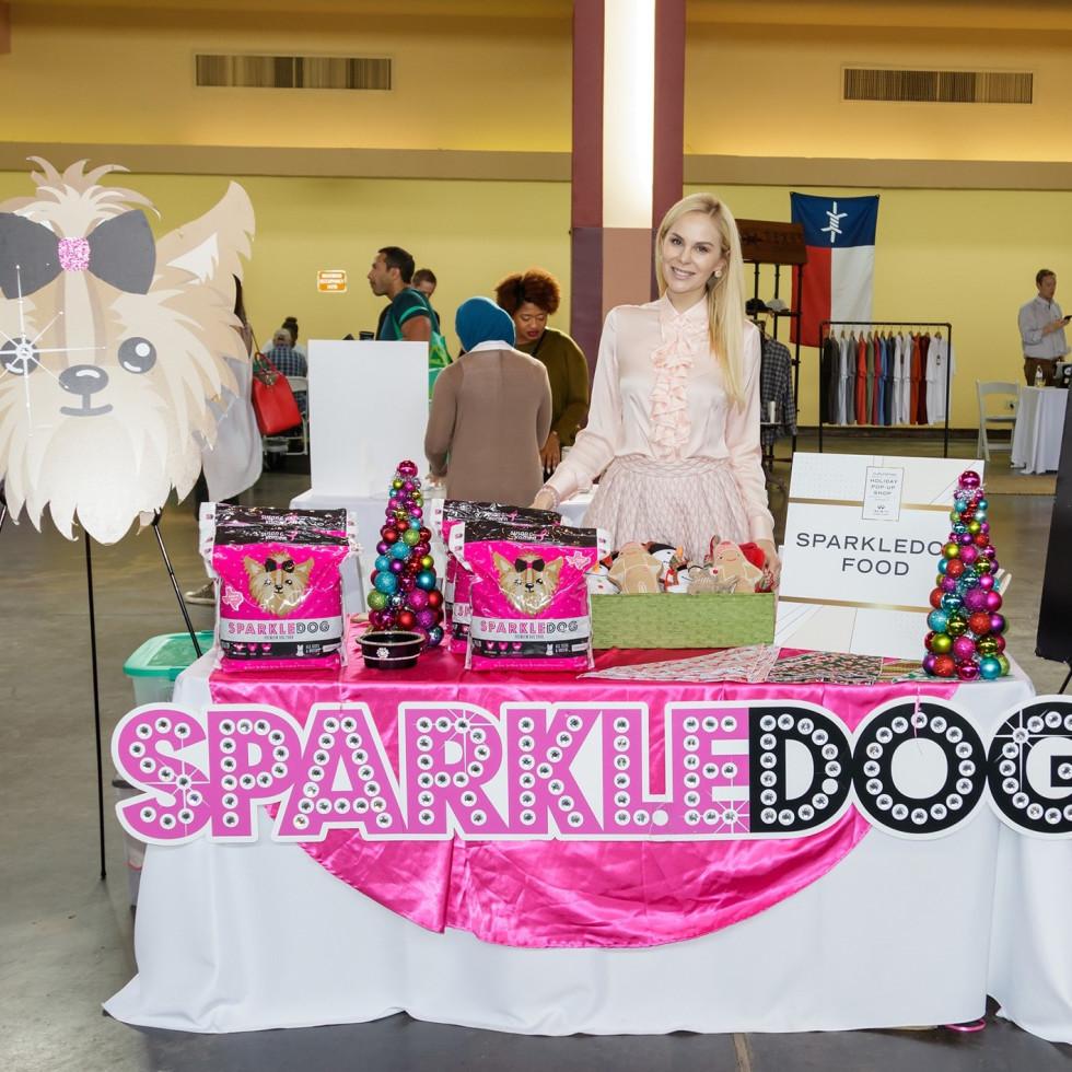 Kameron Westcott, Real Housewives, SparkleDog Food, 2017 CultureMap Dallas Holiday Pop-up