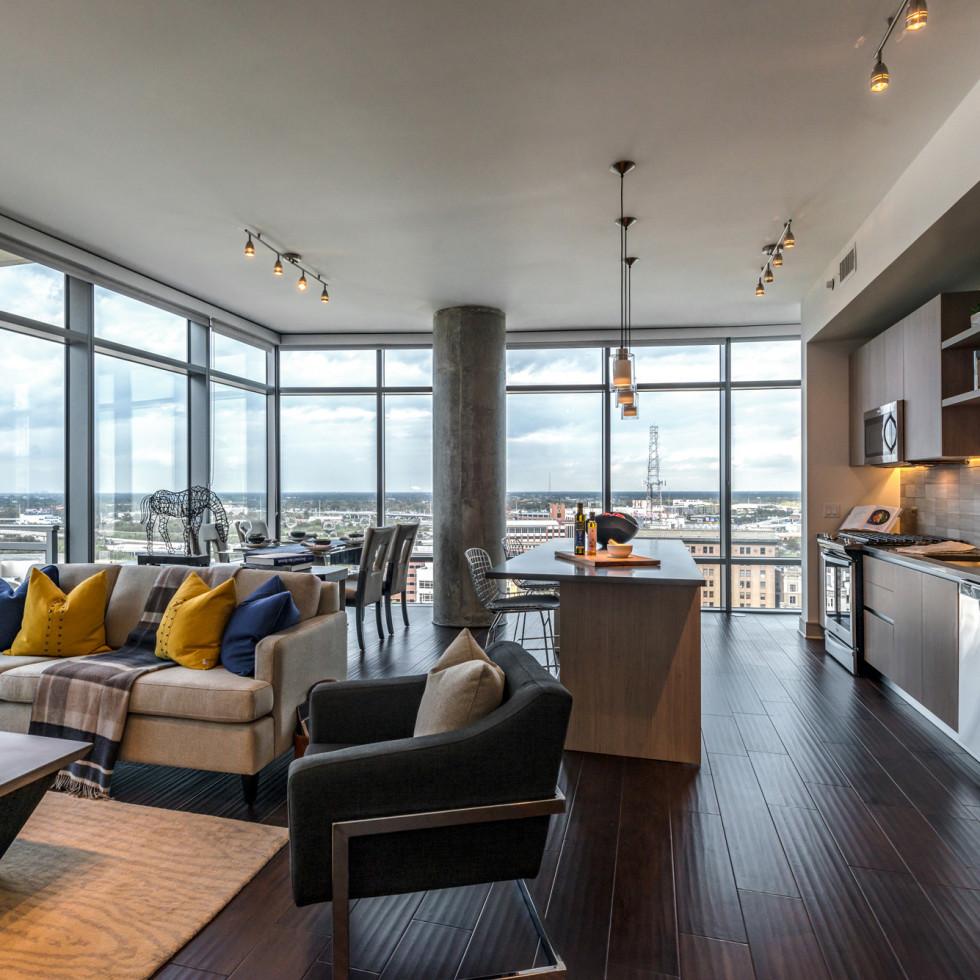 Houston, Aris Market Square, December 2017, Two bedroom apartment