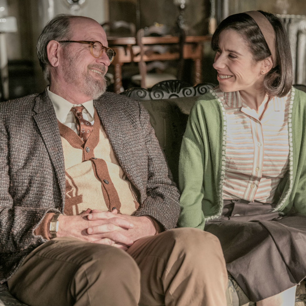 Richard Jenkins and Sally Hawkins in The Shape of Water