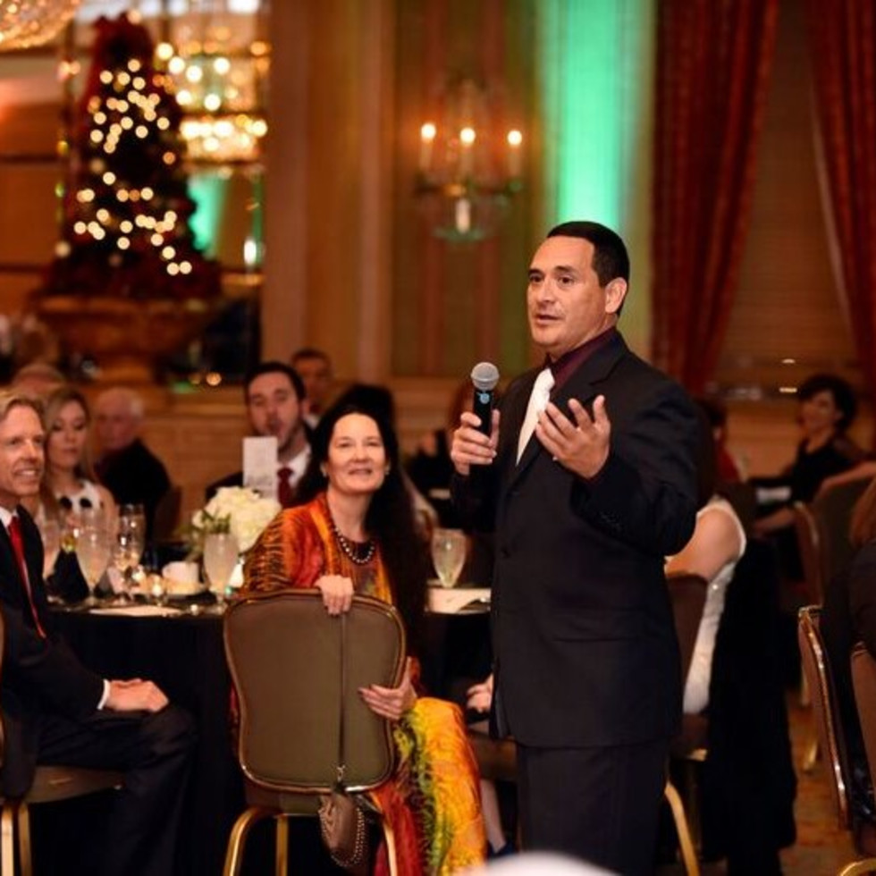 Mike Martinez, FW Opera Dinner with the Stars