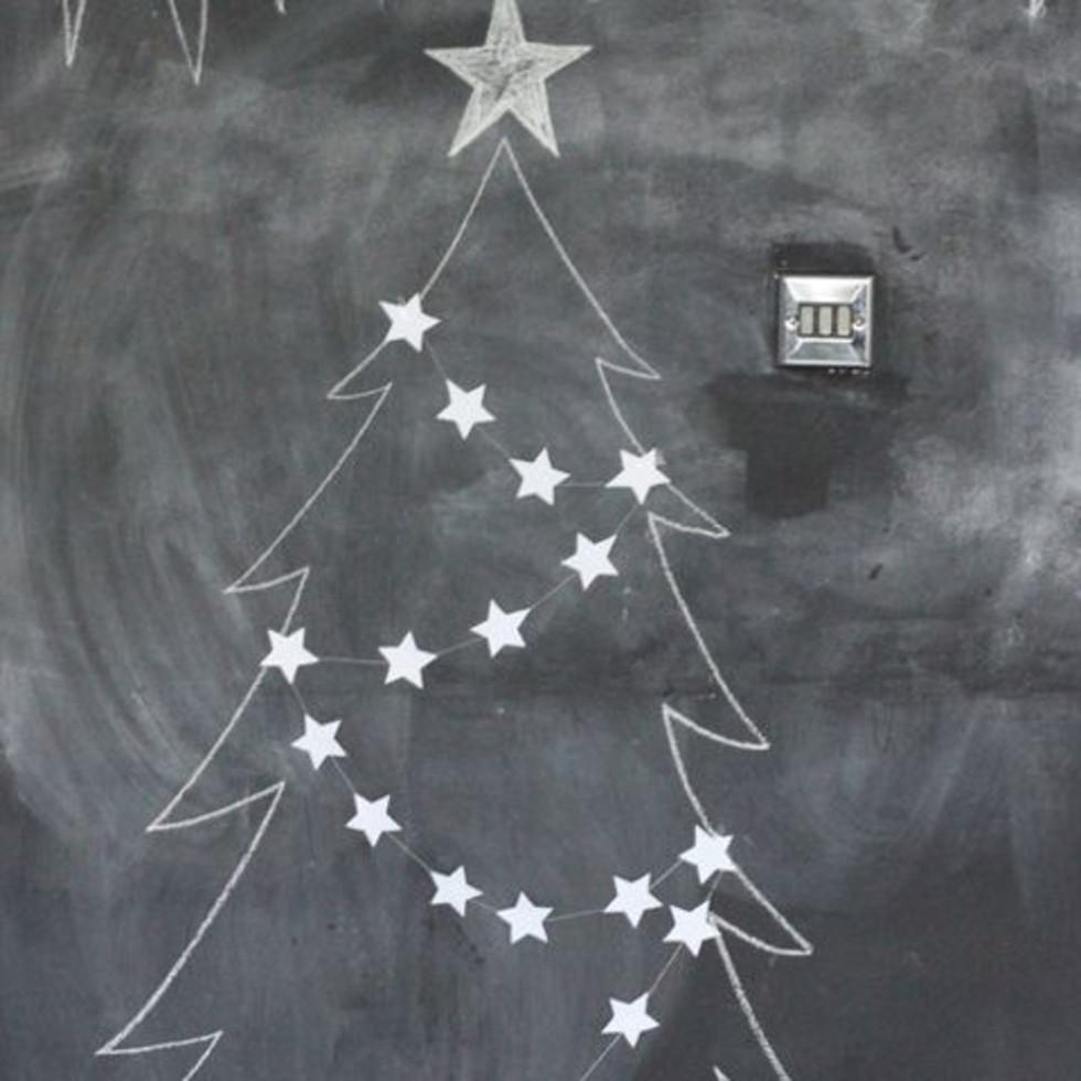 Chalkboard Christmas tree