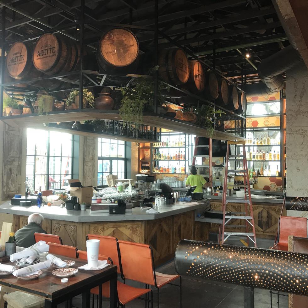 Goode Company Kitchen & Cantina Spring Branch bar