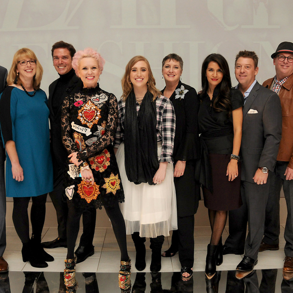 Heart of Fashion guests group: Vivian Wise and group