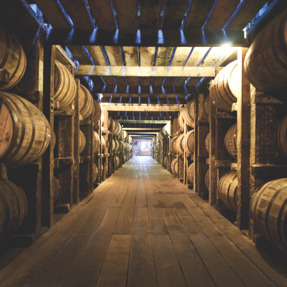 Goodnight Charlie's whiskey barrels