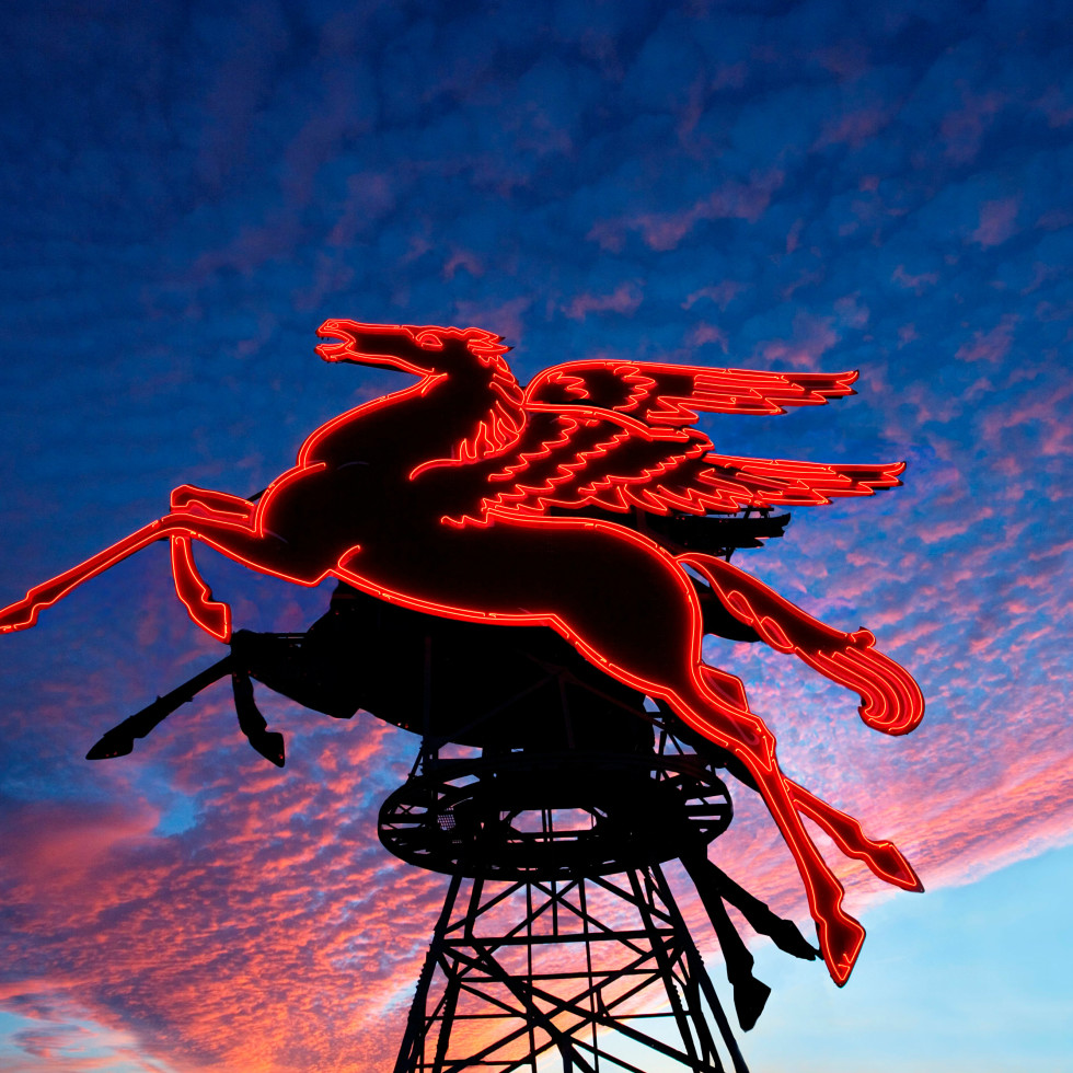 Pegasus atop Magnolia Hotel Dallas