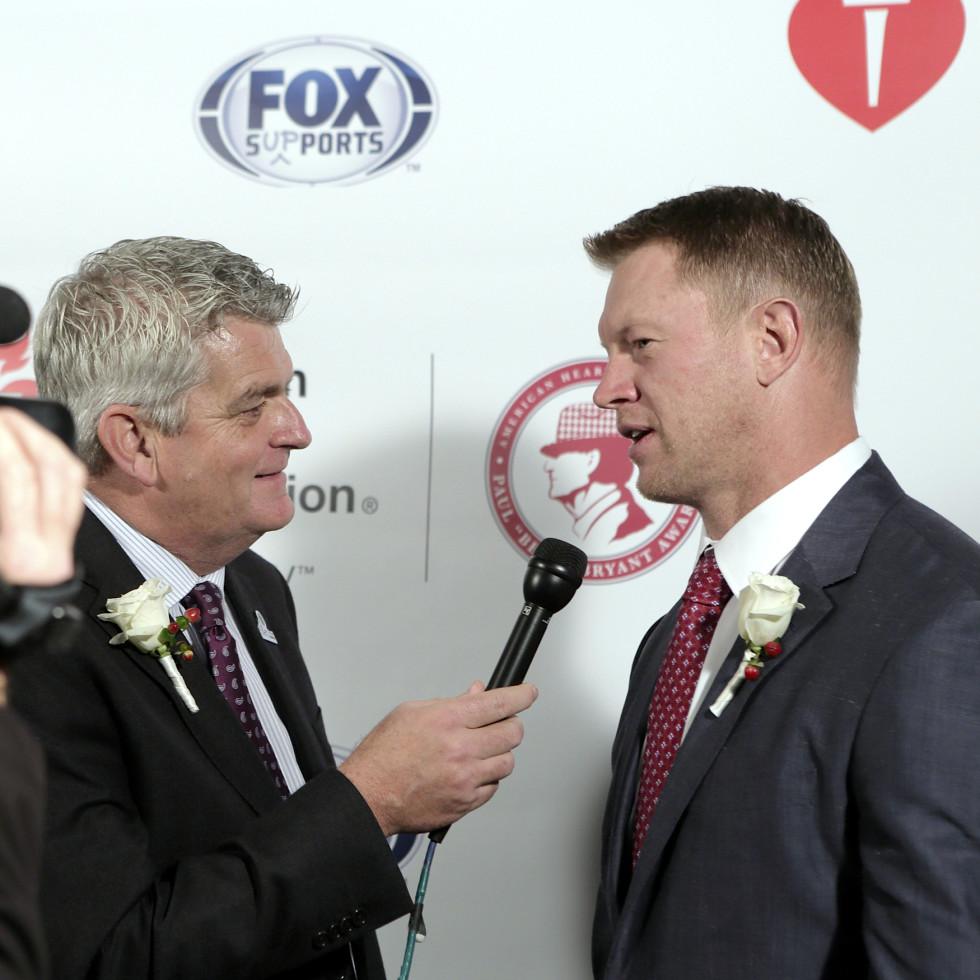 Houston, Bear Bryant Awards, January 2018, John Rhadigan, Scott Frost