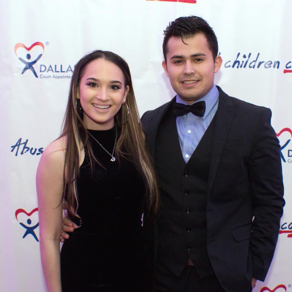 Dallas, CASAblanca gala, January 2018, Elisa Richburg, Alan Cadema