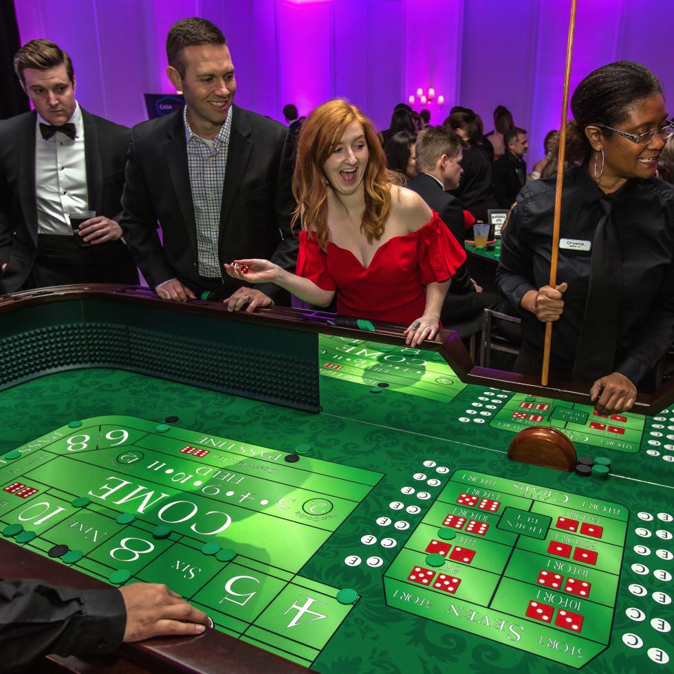 Dallas, CASAblanca gala, January 2018, casino