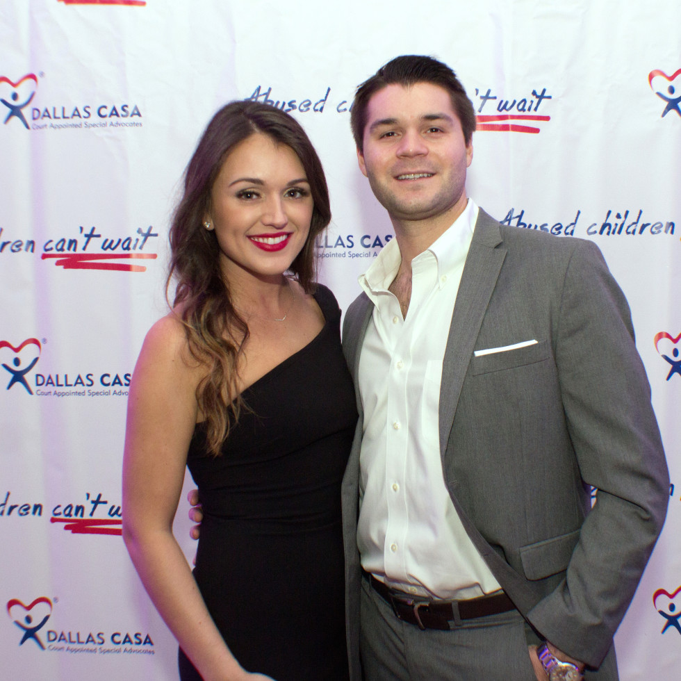 Dallas, CASAblanca gala, January 2018, Lauren Wilcox, Nick Edwards