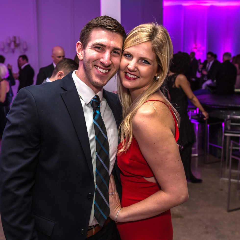 Dallas, CASAblanca gala, January 2018, Mark Bachman, Lauren Bachman
