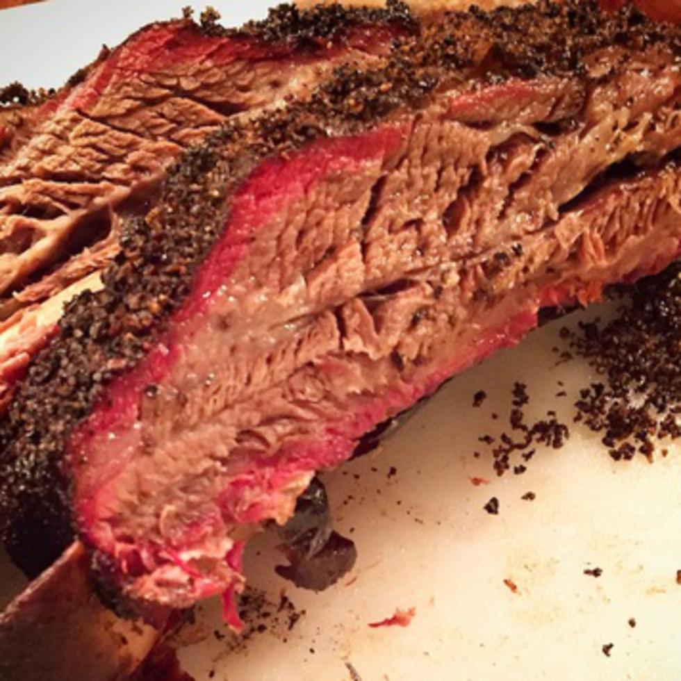 Pinketon's Barbecue brisket