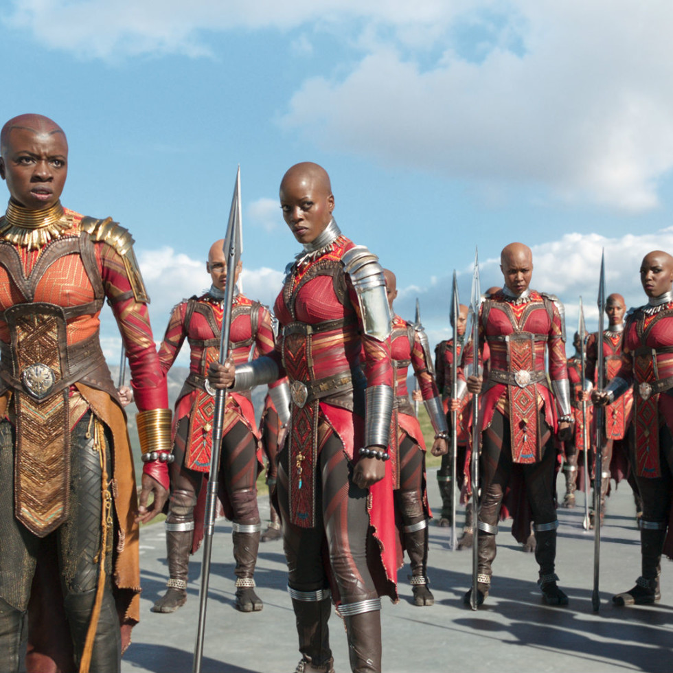 Danai Gurira in Black Panther