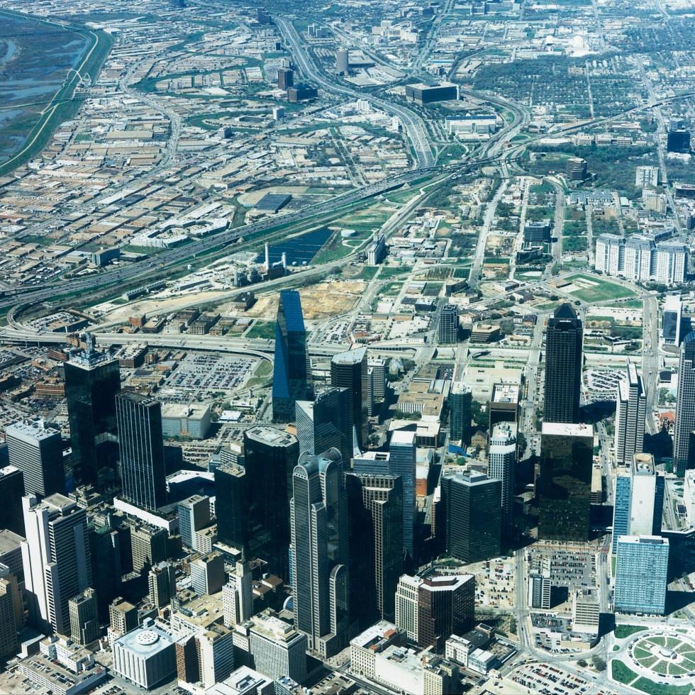 Uptown Dallas in 1997