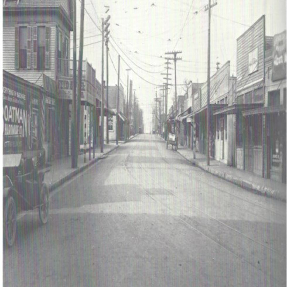 McKinney Avenue in Dallas in 1910