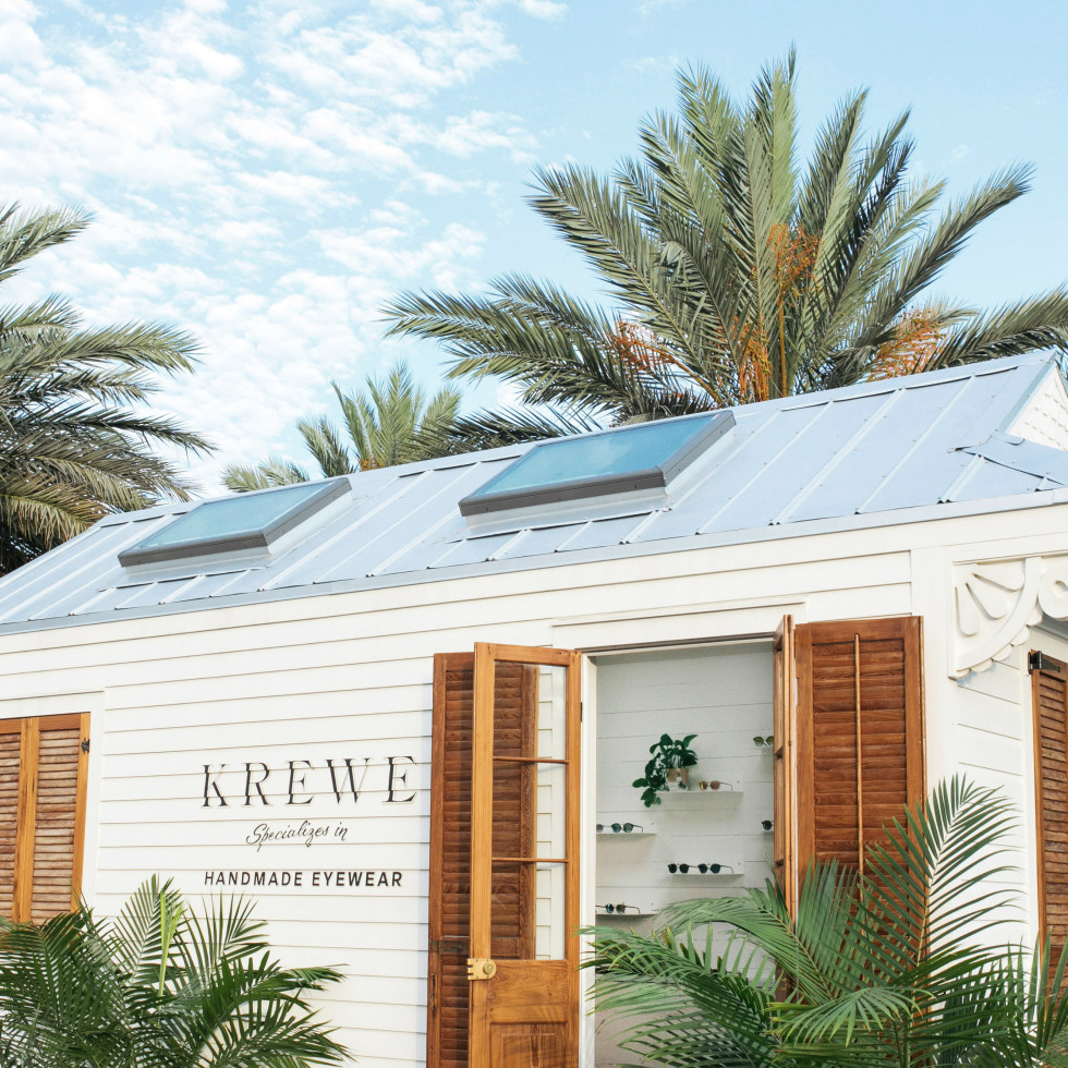 Krewe tiny house exterior