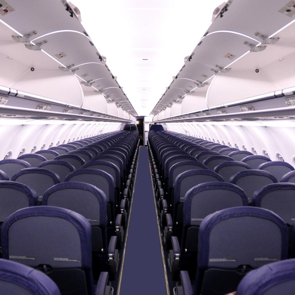 Spirit Airlines cabin seats
