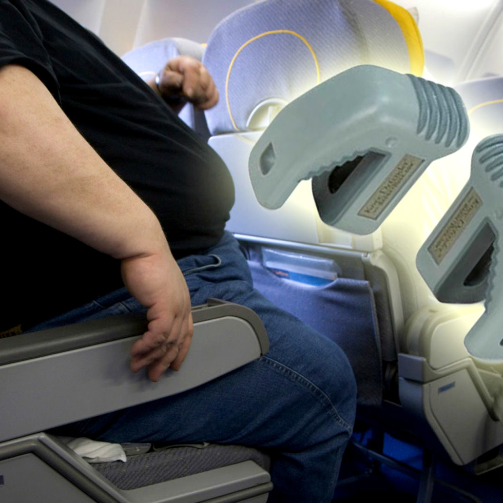 Hoffman knee defender airlines