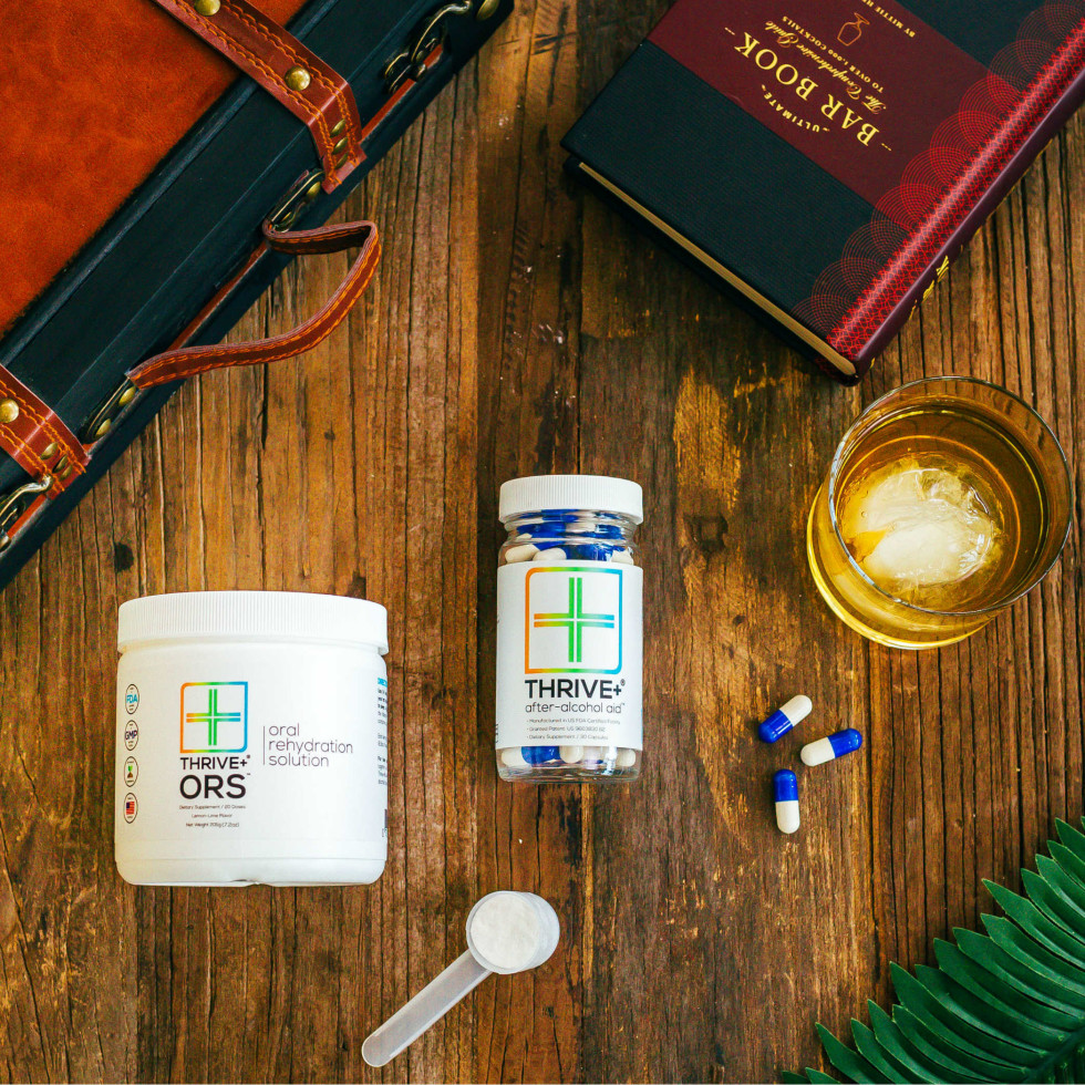 Thrive+ Houston hangover cure