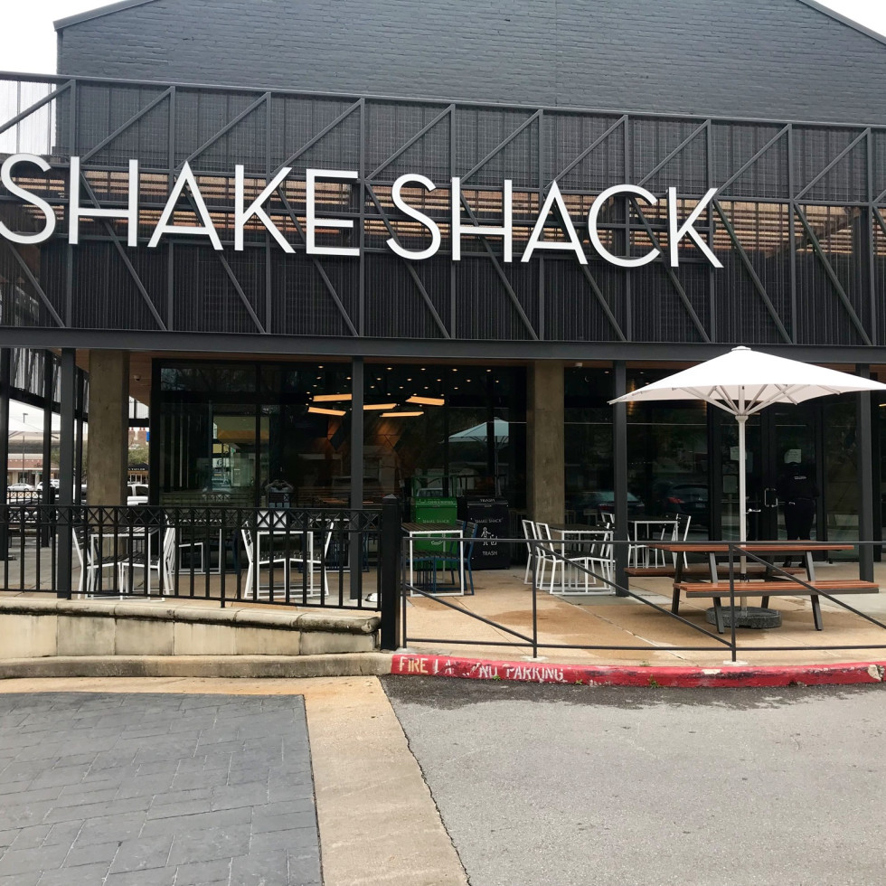 Shake Shack Rice Village exterior