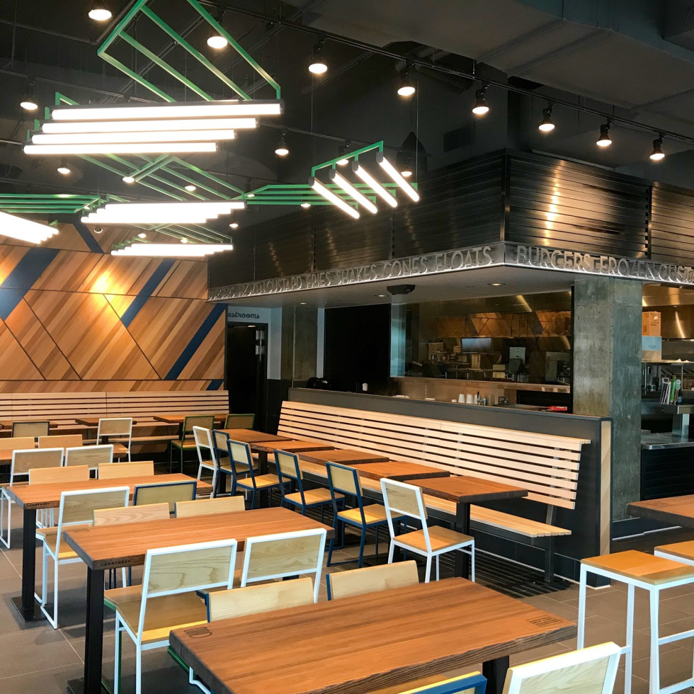 Shake Shack Rice Village interior