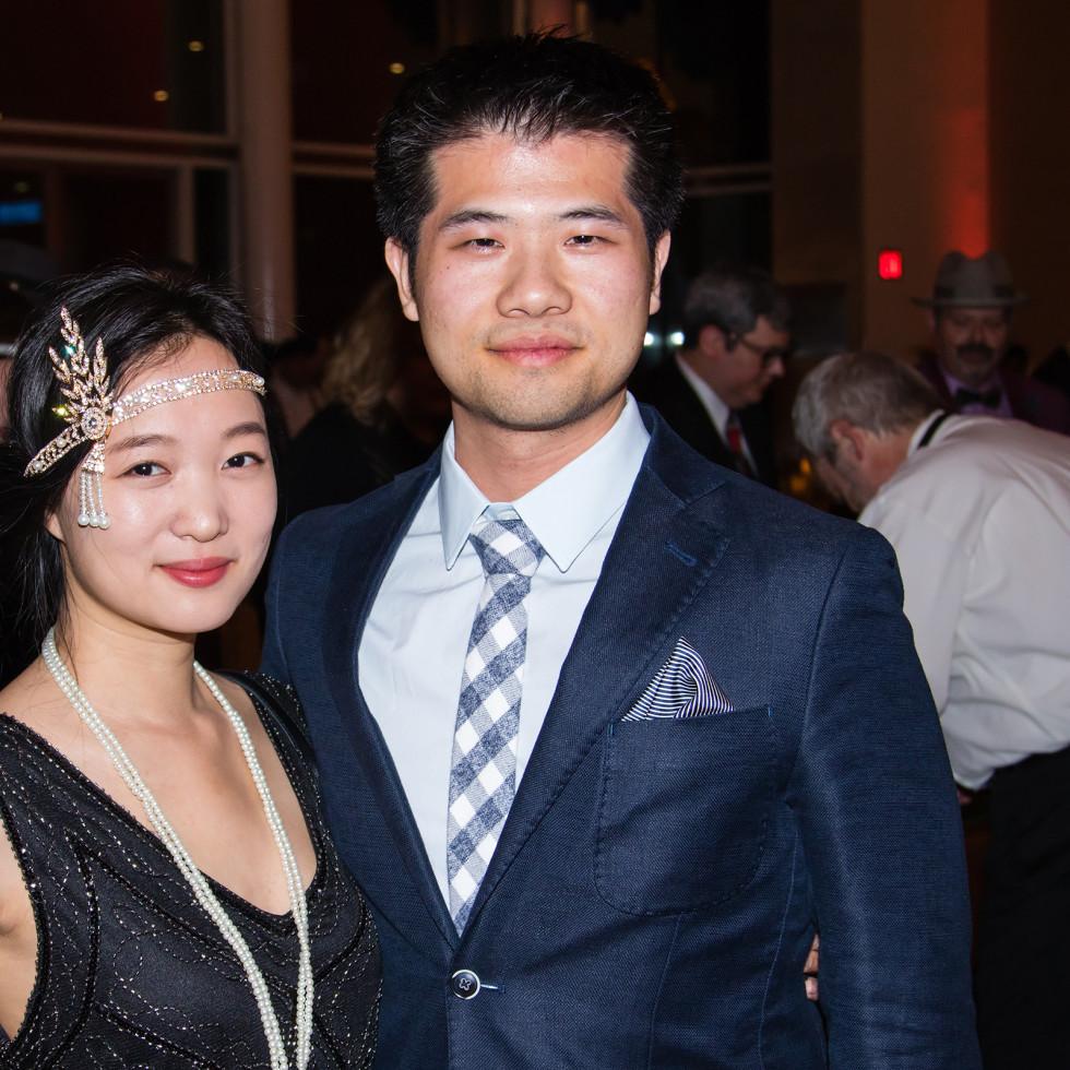 Louisa Liu, David Zhang