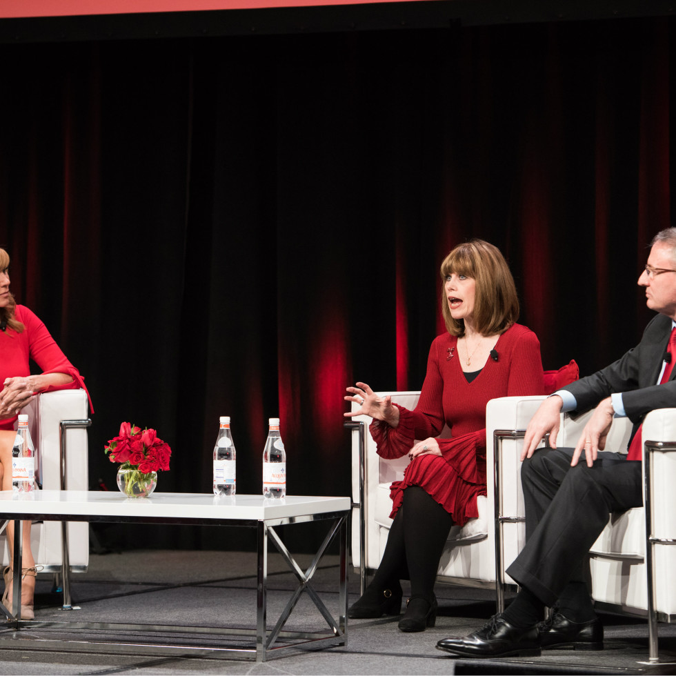 Leeza Gibbons, Nancy Brown, Dr. John Warner