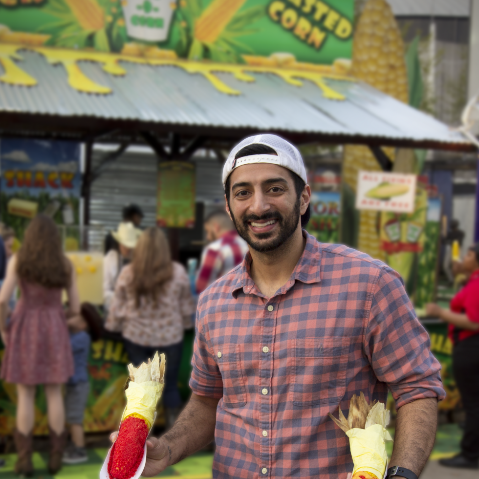 Rodeo Carnival Raheel cheeto corn