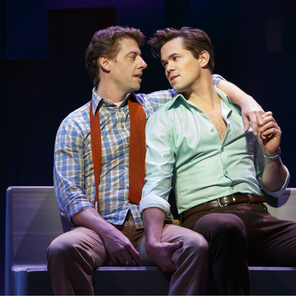 The Broadway cast of Falsettos
