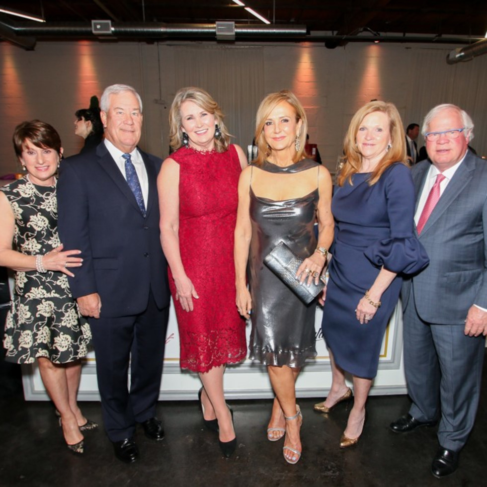 Georgia and Marc Lyons, Diana Crawford, Jane McGarry, Vinette and Mike Montgomery, Symphony of Chefs 2018