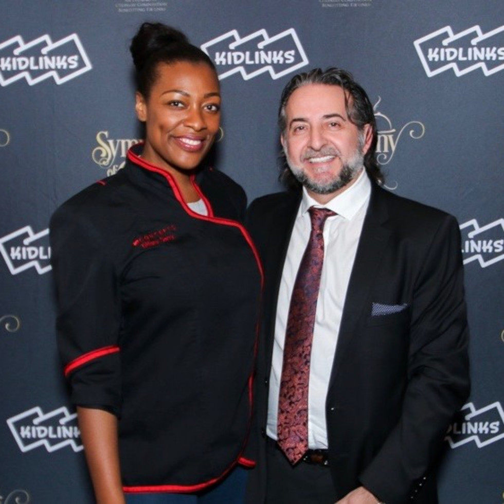 Chef Tiffany Derry, Salvatore Gisellu, Symphony of Chefs 2018