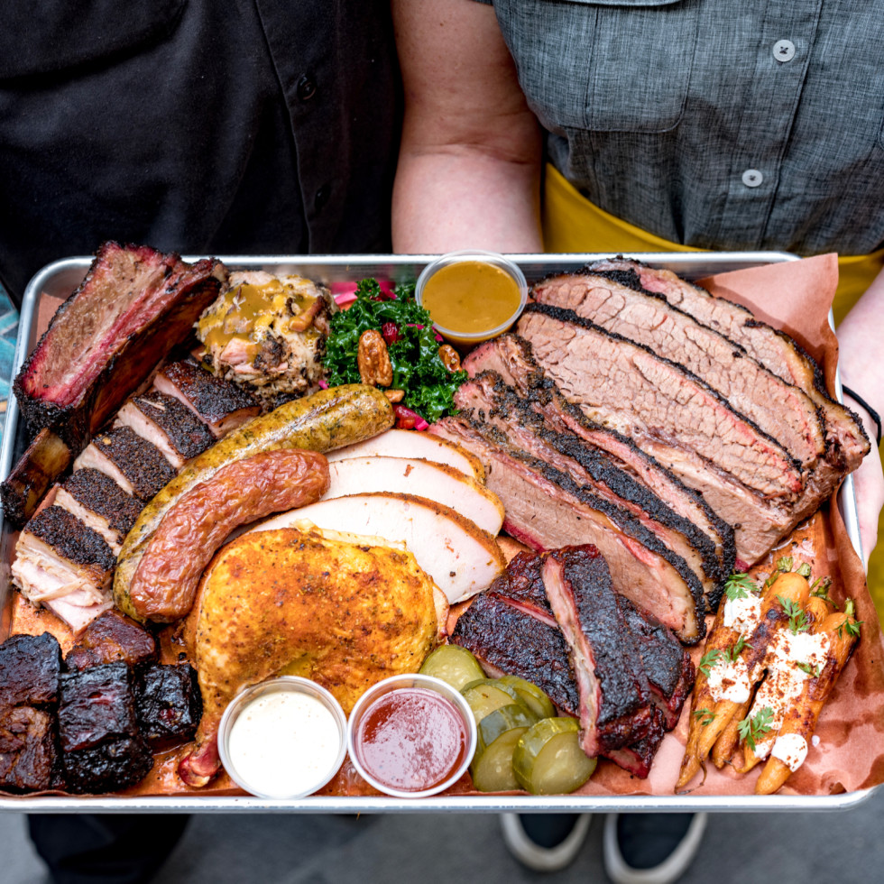Feges BBQ Erin Patrick Feges barbecue tray