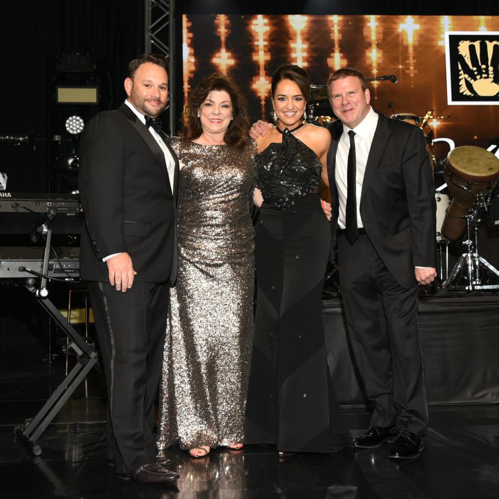 Tommy Kuranoff, Laura Ward, Maria Moncada Alaoui, and Tilman Fertitta