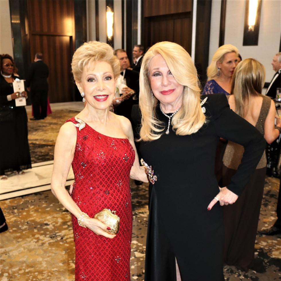 Margaret Alkek Williams and Sherri Zucker