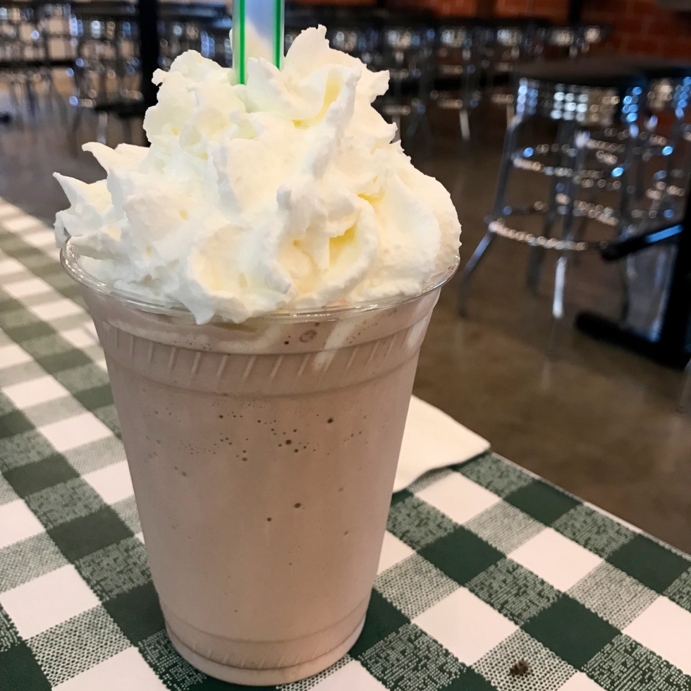 Rodeo Goat Houston chocolate milkshake