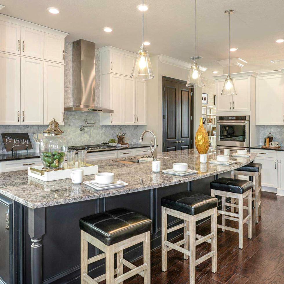 David Weekley homes interior kitchen