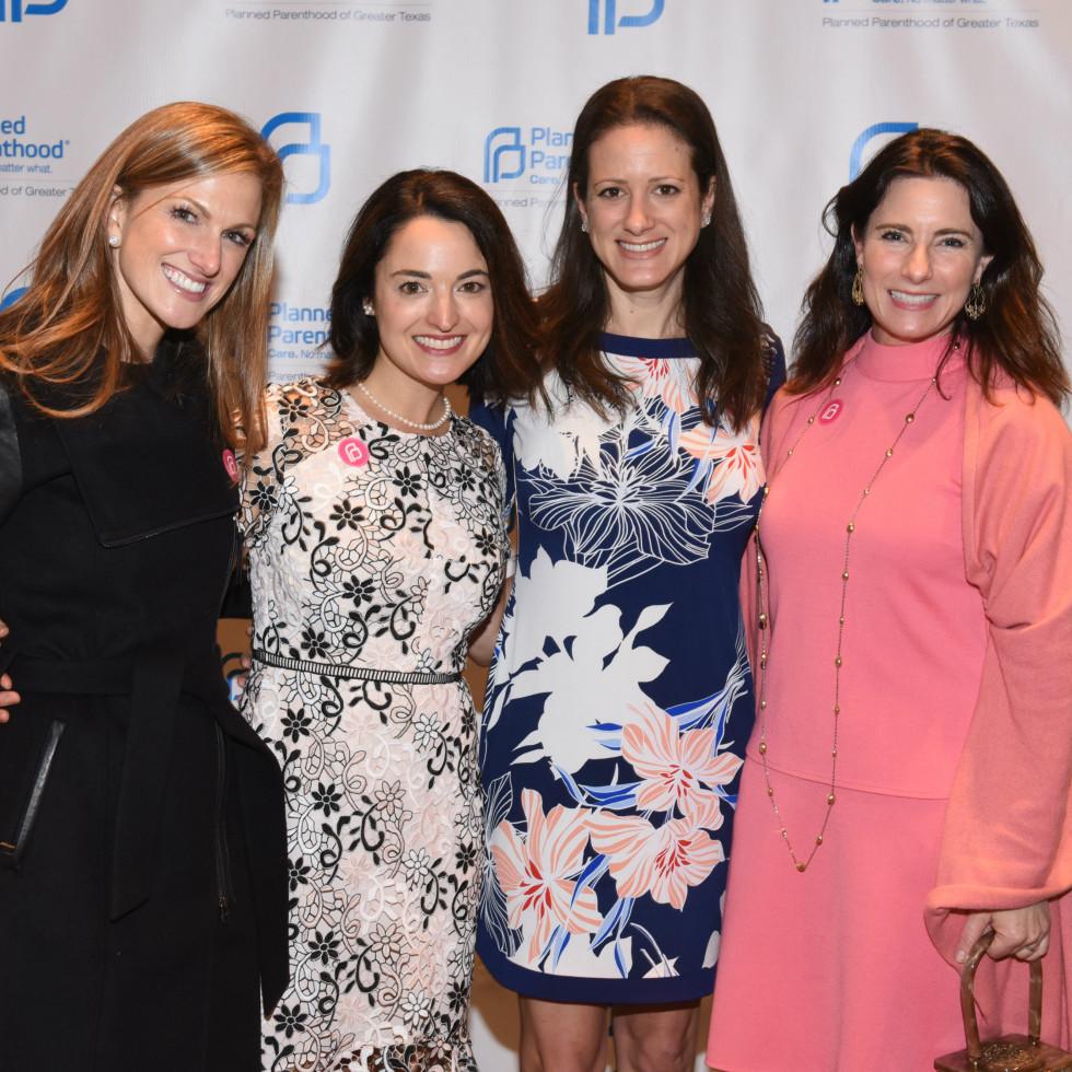 Victoria Cullum, Margaret Hirsch, Meredith Wallace, Michelle Lockhart